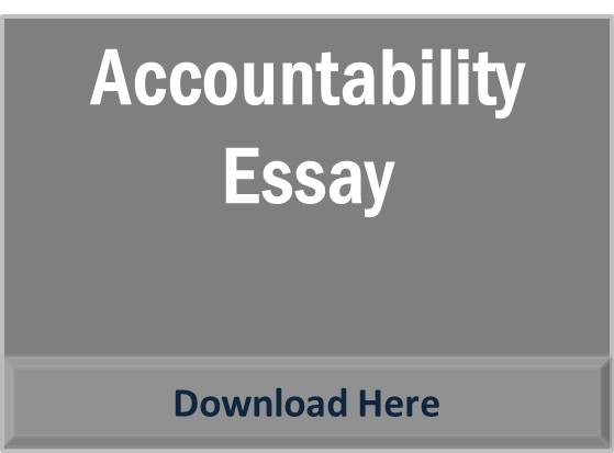 essays on accountablity